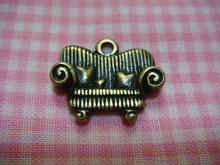 Antique Bronze Sofa Charm