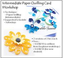 Intermediate Paper Quilling Card Workshop