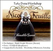 Tutu Black Dress Workshop
