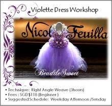 Jewelry Making Course: Violette Dress Workshop