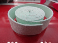 20mm Flat Suede Cord in Mint Green