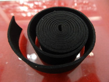 20mm Flat Suede Cord in Black