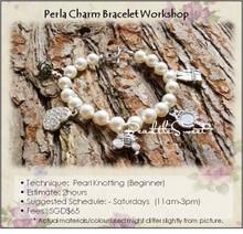 Jewelry Making Course : Perla Charm Bracelet Workshop