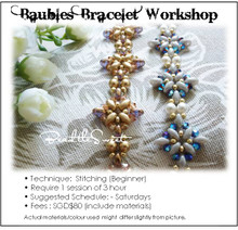 Jewelry Making Course : Baubles Bracelet Workshop