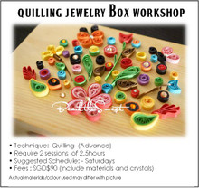 Paper Quilling Course : Quilling Jewelry Box Workshop