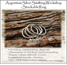 Metal Smithing Course : My Stackable Ring Workshop