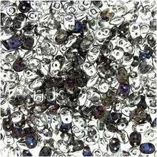 SuperDuo Beads 2.5X5mm Crystal Helio