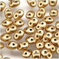 Superduo Beads 2.5X5MM Crystal Bronze Pale Gold