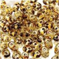 SuperDuo Beads 2.5X5mm Crystal Travertin Dark
