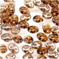 SuperDuo Beads 2.5X5mm Smoke Topaz Celsian