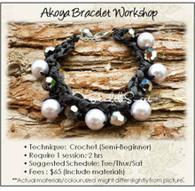 Jewelry Making Course : Akoya Bracelet Workshop