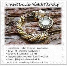 Crochet Beaded Watch Workshop