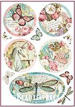 Stamperia Rice Paper DFSA4270