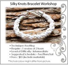 Jewellery Making Course : Silky Knots Bracelet Course