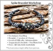 Jewellery Making Course : Spike Bracelet Workshop