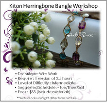 Jewellery Making Course : Kiton Bangle Workshop