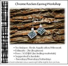 Jewellery Making Course : Chrome Rockers Earring Workshop