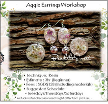 Jewellery Making Course : Aggie Earring Workshop