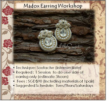 Jewellery Making Course : Madox Earring Workshop
