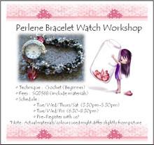 Perlene Watch Bracelet Workshop