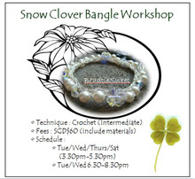 Jewelry Making Course: Snow Clover Bangle Workshop