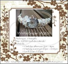 Jewellery Making : White Winter Watch Workshop