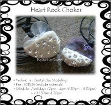 Jewelry Making Course: Heart Rock Choker Workshop