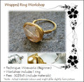 Jewelry Making Course: Cosmic Wrapped Ring Workshop