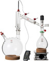 Clear5v5 Liter Short Path Distillation Kit with Valved Adapter