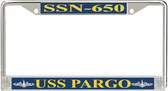 USS Pargo SSN-650 License Plate Frame