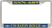 USS Baton Rouge SSN-689 License Plate Frame