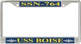 USS Boise SSN-764 License Plate Frame