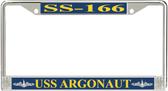 USS Argonaut SS-166 License Plate Frame