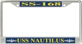 USS Nautilus SS-168 License Plate Frame