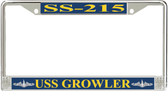 USS Growler SS-215 License Plate Frame