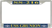 USS Grunion SS-216 License Plate Frame