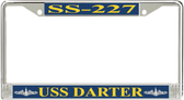 USS Darter SS-227 License Plate Frame