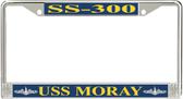 USS Moray SS-300 License Plate Frame