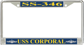 USS Corporal SS-346 License Plate Frame