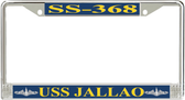 USS Jallao SS-368 License Plate Frame