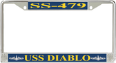 USS Diablo SS-479 License Plate Frame