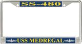 USS Medregal SS-480 License Plate Frame