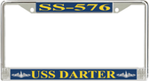 USS Darter SS-576 License Plate Frame