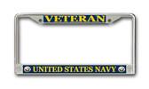 U.S. Navy Veteran License Plate Frame