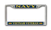 U.S. Navy Vietnam Veteran License Plate Frame