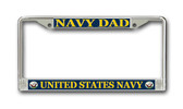 U.S. Navy Dad License Plate Frame