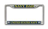 U.S. Navy Dad License Plate Frame