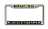 U.S. Navy Sister License Plate Frame