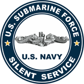 US Submarine Force Silent Service Decal