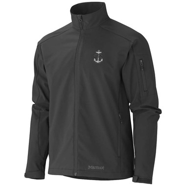Marmot Approach Jacket with embroidered Navy - USN Anchor